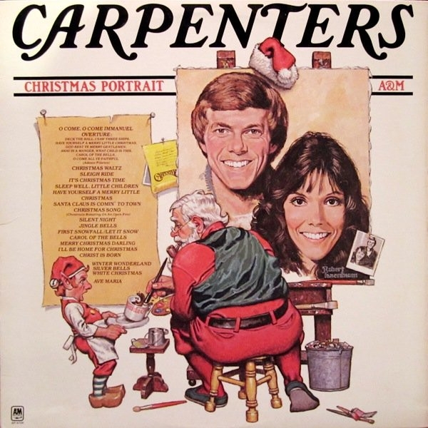 Carpenters Christmas Portrait Cover Art