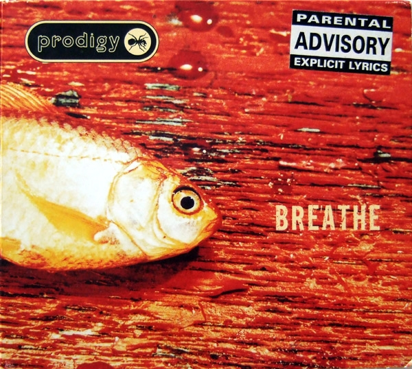 The Prodigy Breathe cover art