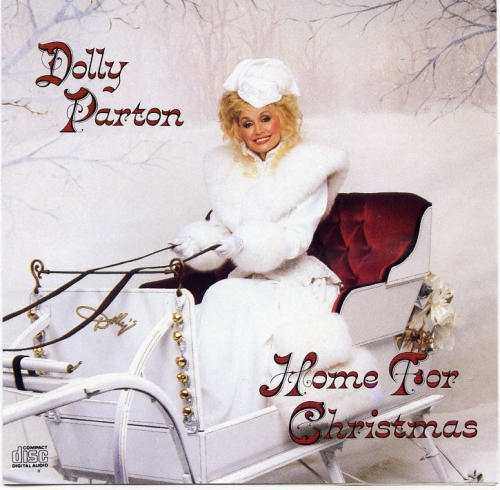Dolly Parton Home for Christmas cover art