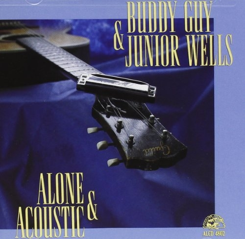 Junior Wells Alone & Acoustic cover art