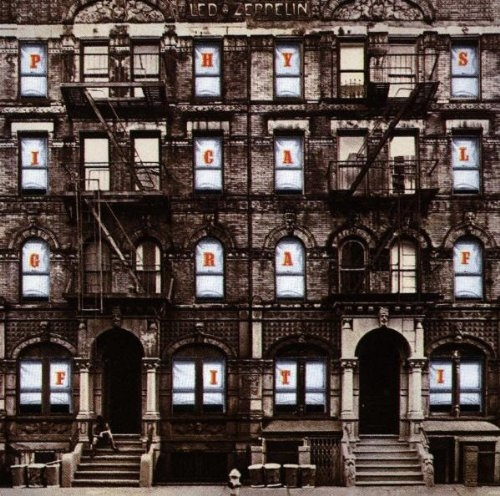 Led Zeppelin Physical Graffiti cover art