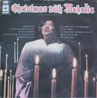 Mahalia Jackson Christmas With Mahalia cover art