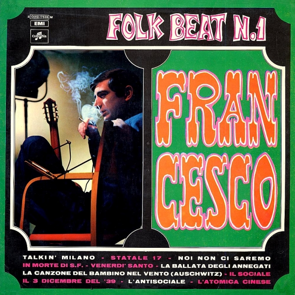 Francesco Guccini Folk Beat n. 1 cover art