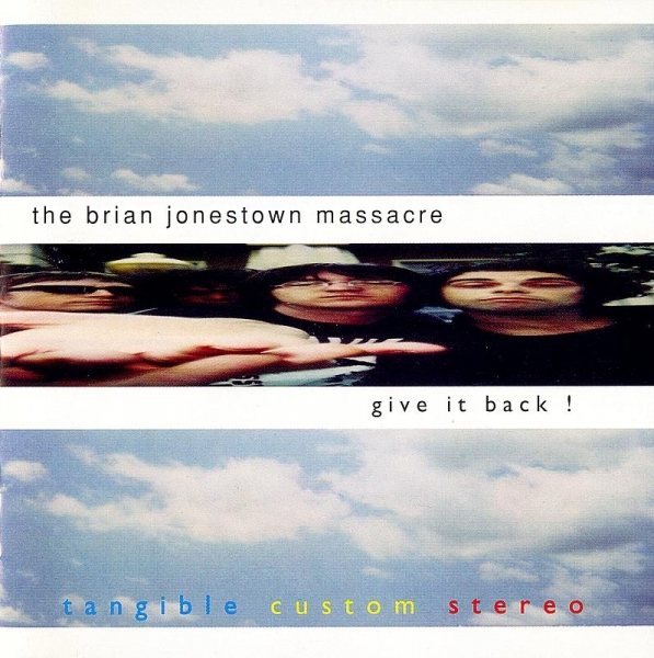 The Brian Jonestown Massacre Give It Back! Cover Art