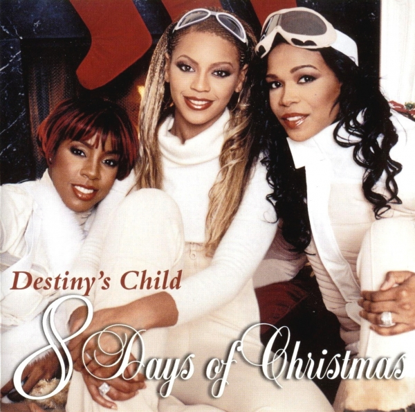 Kelly Rowland 8 Days of Christmas cover art
