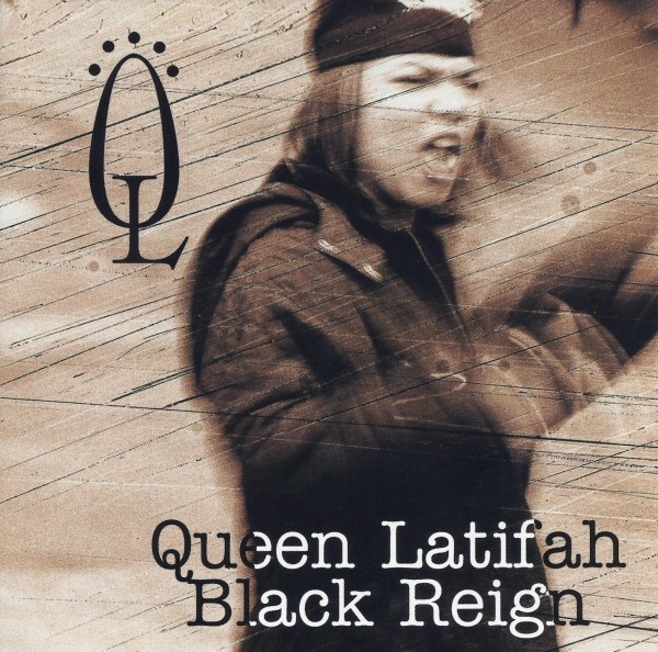 Queen Latifah Black Reign cover art