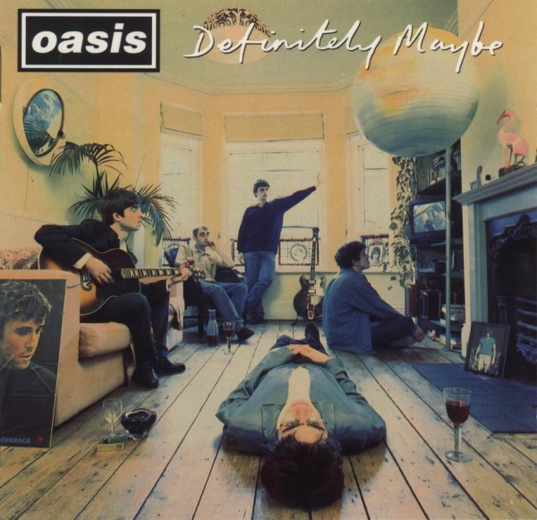 Oasis Definitely Maybe cover art