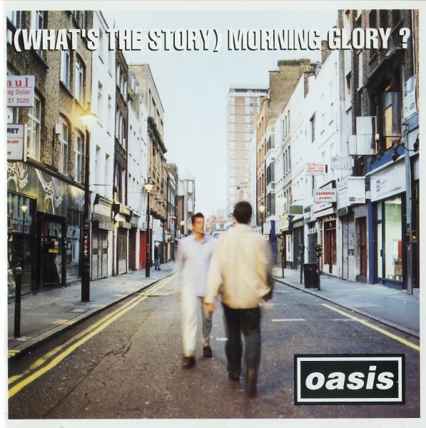 Oasis (What's the Story) Morning Glory? cover art