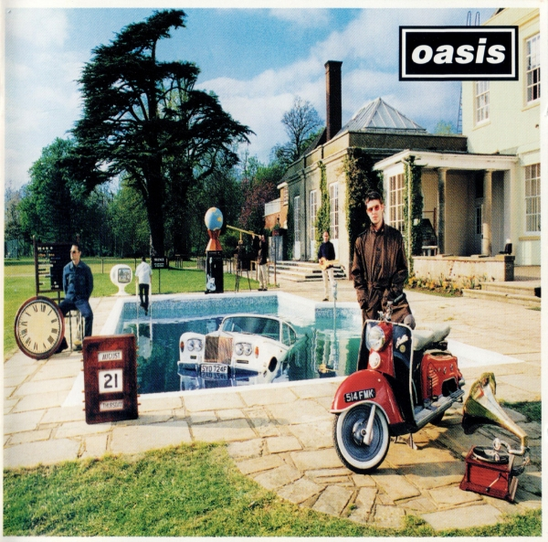 Oasis Be Here Now cover art