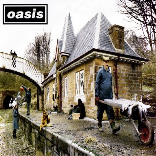 Oasis Some Might Say Cover Art