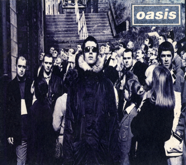 Oasis D'You Know What I Mean? cover art