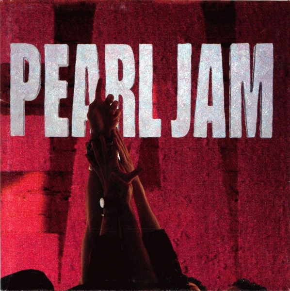 Pearl Jam Ten cover art
