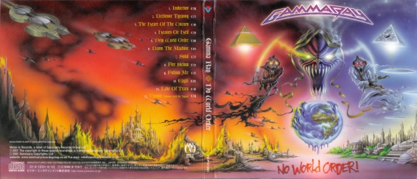 Gamma Ray No World Order cover art