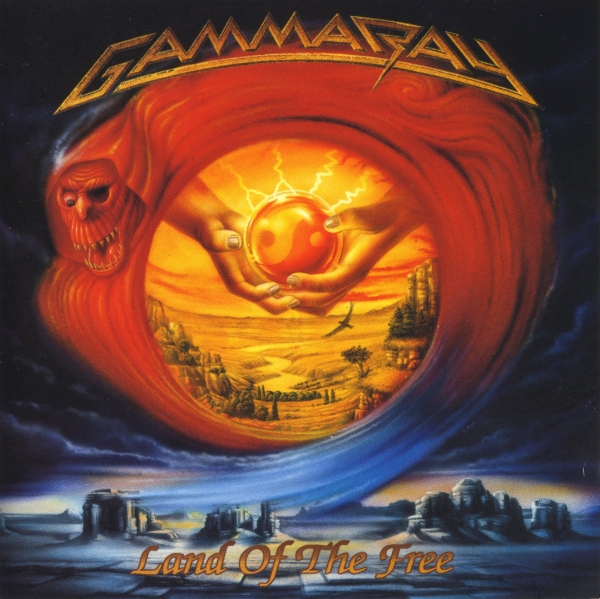Gamma Ray Land of the Free cover art