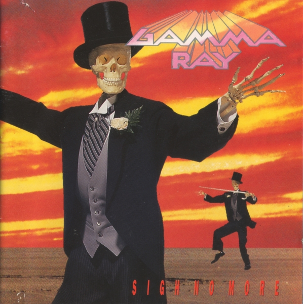 Gamma Ray Sigh No More cover art
