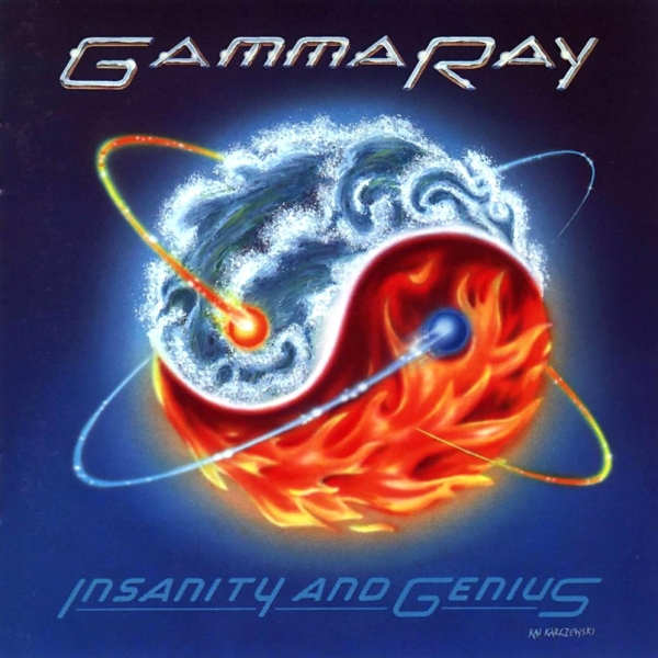 Gamma Ray Insanity and Genius cover art