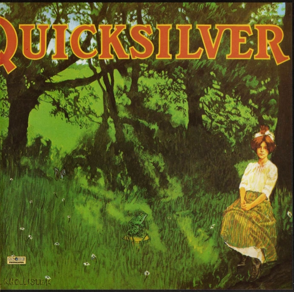 Quicksilver Messenger Service Shady Grove Cover Art