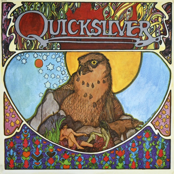 Quicksilver Messenger Service Quicksilver cover art