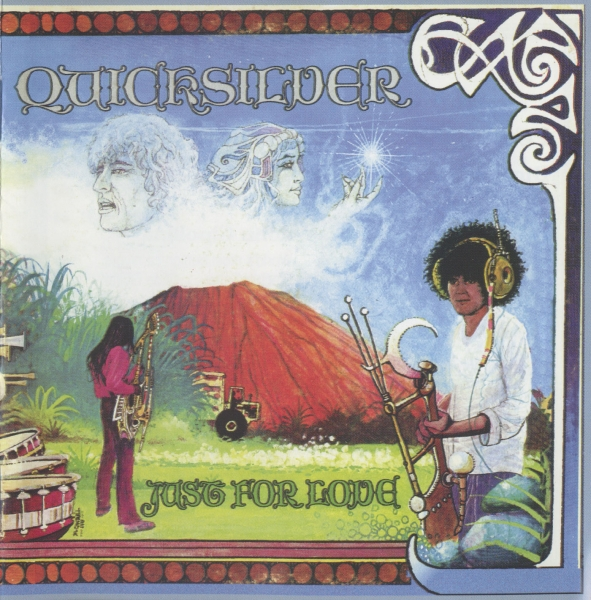 Quicksilver Messenger Service Just for Love cover art