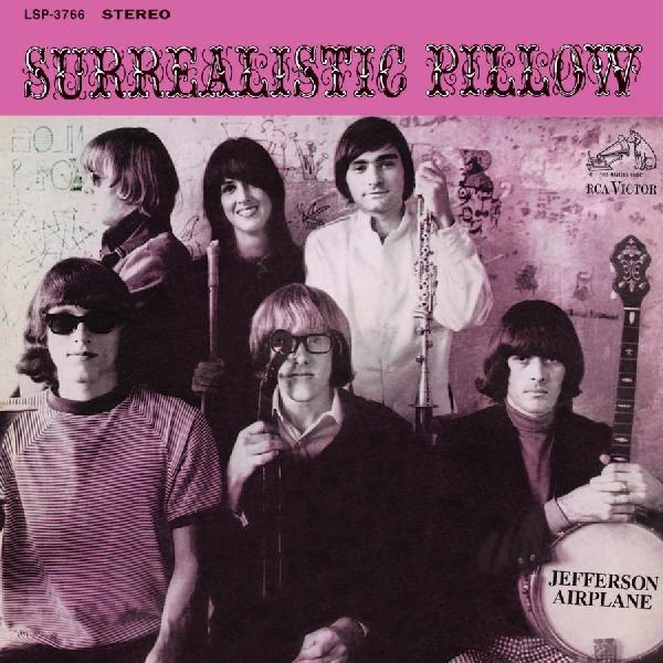 Jefferson Airplane Surrealistic Pillow cover art