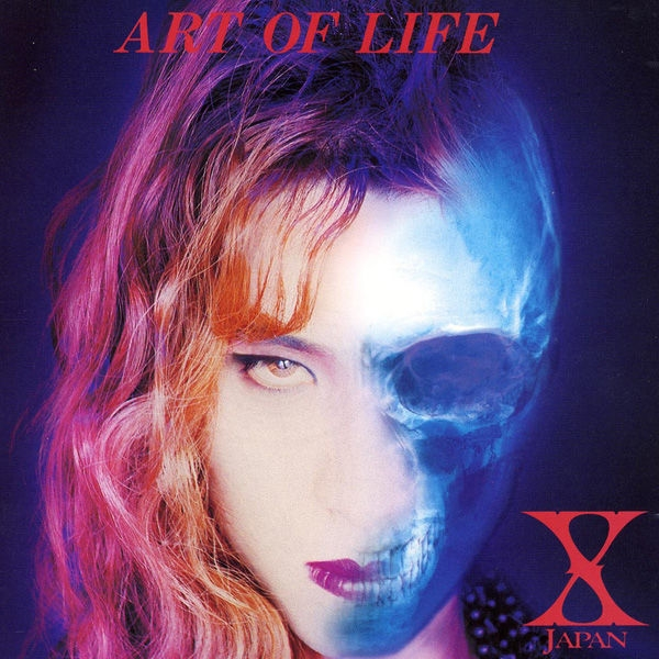X JAPAN ART OF LIFE cover art