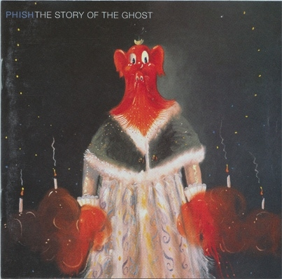 Phish The Story of the Ghost Cover Art