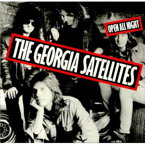 The Georgia Satellites Open All Night Cover Art