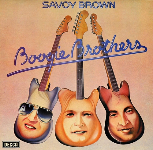 Savoy Brown Boogie Brothers cover art