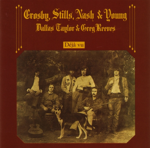 Crosby, Stills, Nash & Young Déjà vu cover art