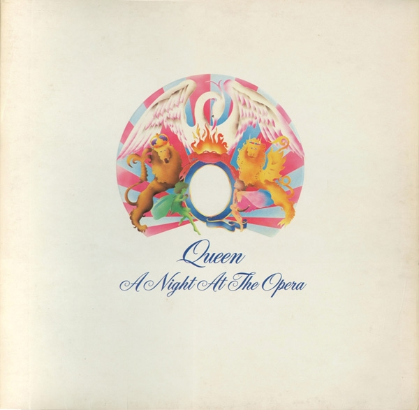 Queen A Night at the Opera Cover Art