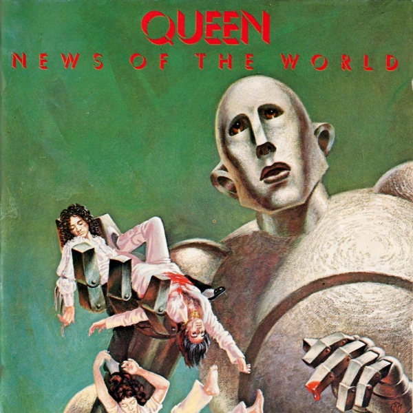 Queen News of the World cover art