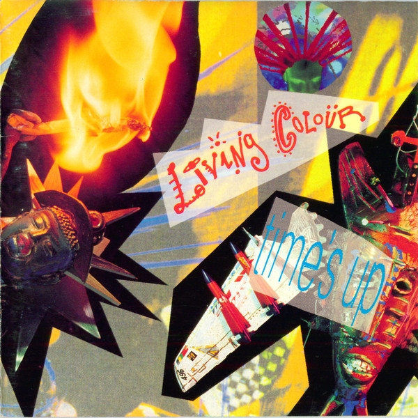 Living Colour Time's Up Cover Art