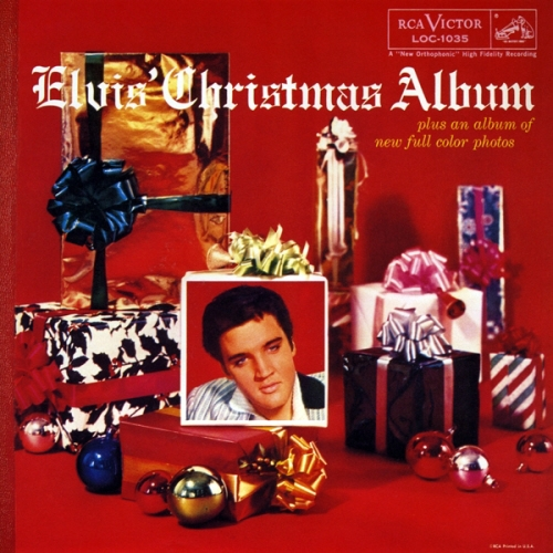 Elvis Presley Elvis' Christmas Album cover art