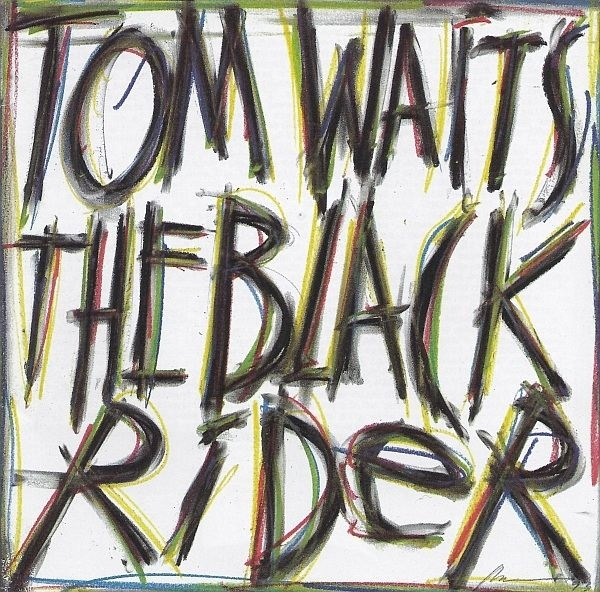 Tom Waits The Black Rider Cover Art