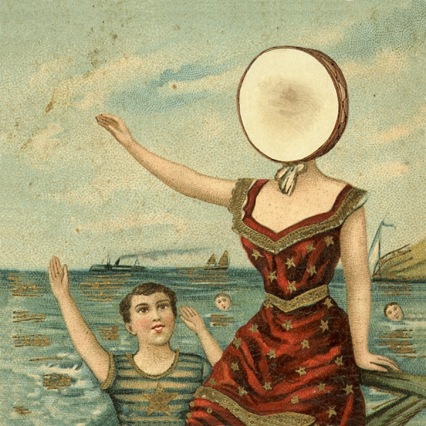 Neutral Milk Hotel In the Aeroplane Over the Sea cover art
