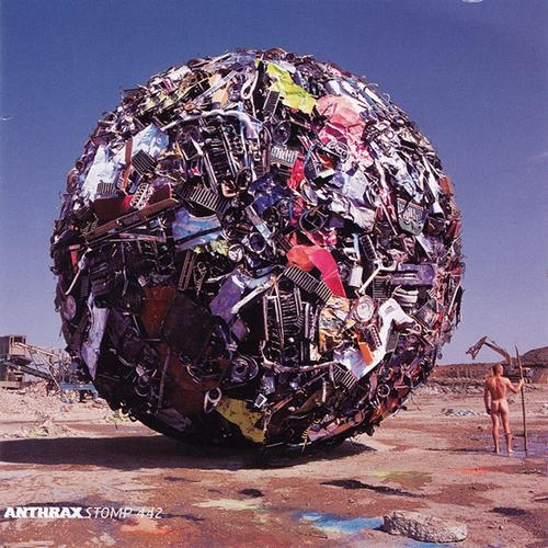 Anthrax Stomp 442 cover art