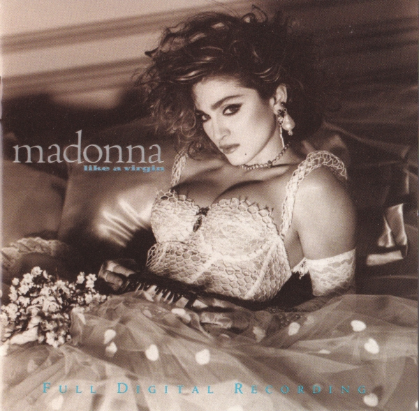 Madonna Like a Virgin cover art