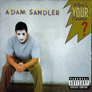 Adam Sandler What's Your Name? cover art