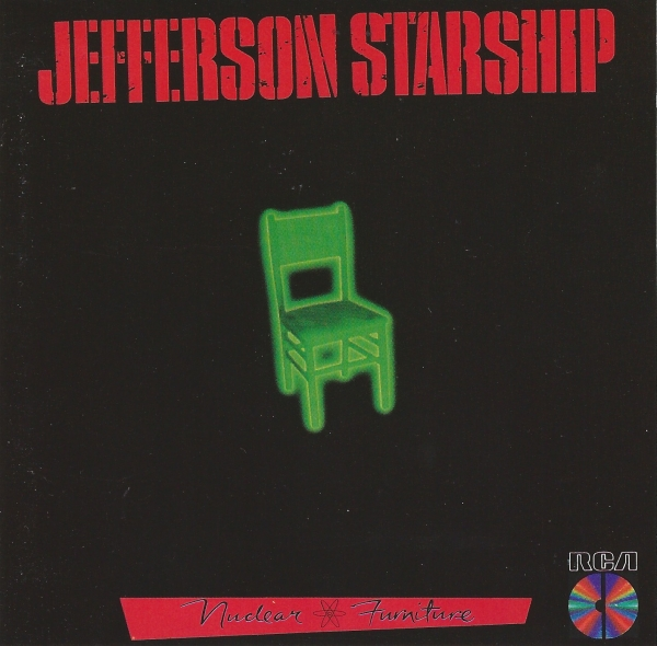 Jefferson Starship Nuclear Furniture cover art