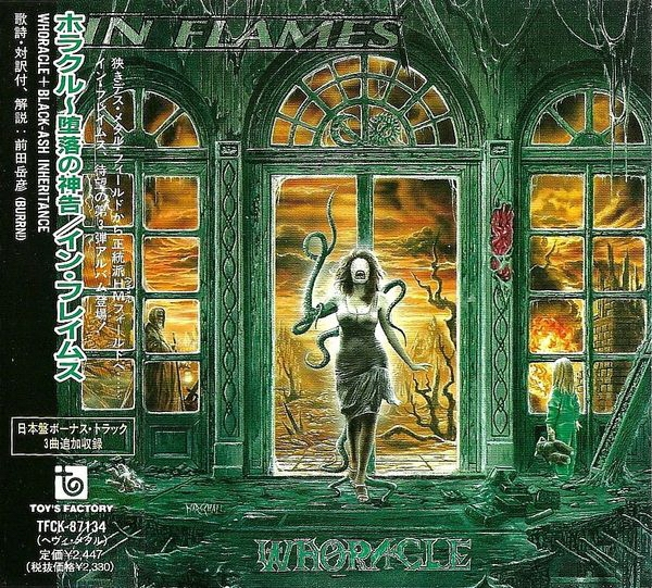 In Flames Whoracle cover art