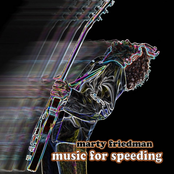 Marty Friedman Music for Speeding Cover Art