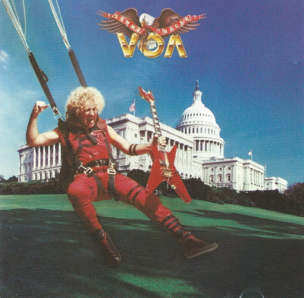 Sammy Hagar VOA cover art