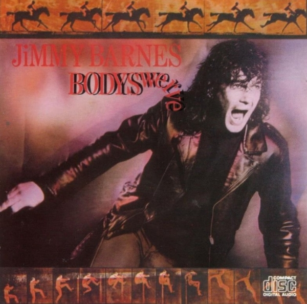 Jimmy Barnes Bodyswerve cover art