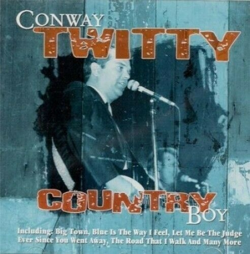 Conway Twitty Country Boy cover art