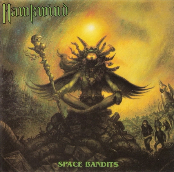 Hawkwind Space Bandits Cover Art