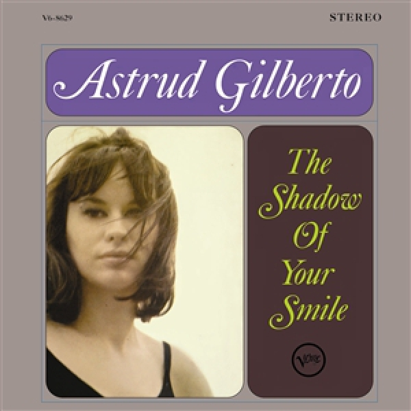 Astrud Gilberto The Shadow of Your Smile Cover Art