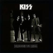 KISS Dressed to Kill cover art