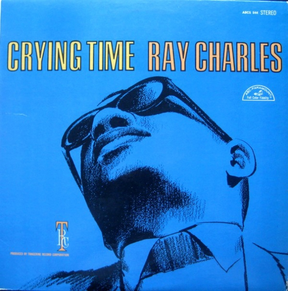 Ray Charles Crying Time cover art