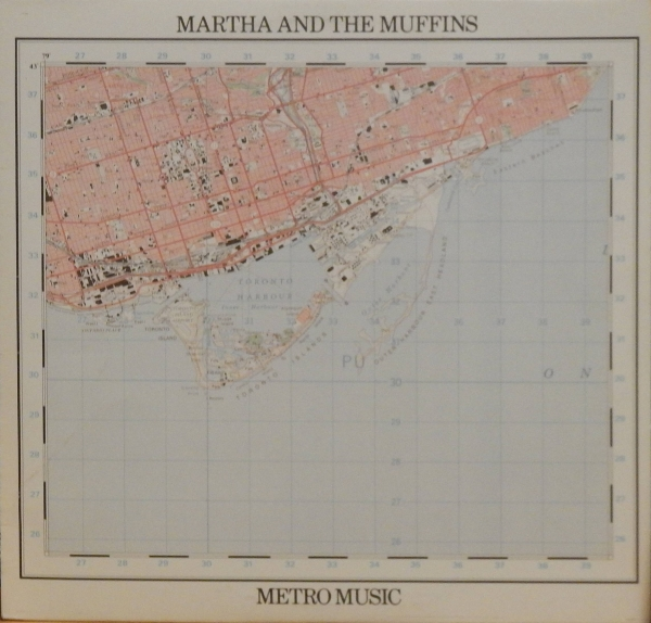 Martha and the Muffins Metro Music Cover Art