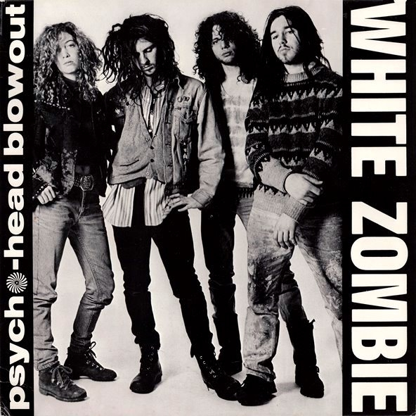 White Zombie Psycho-Head Blowout Cover Art